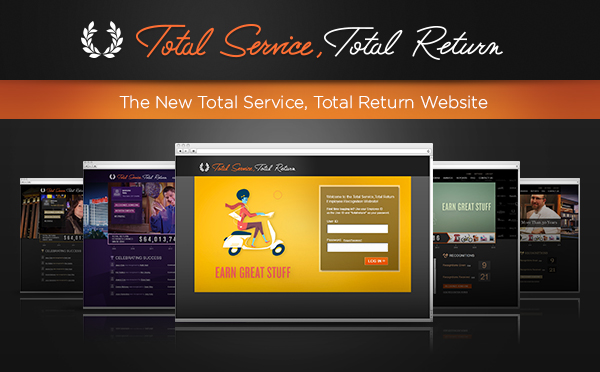 The New Total Service, Total Return Website